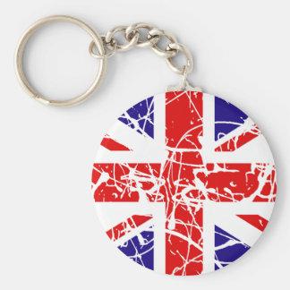 UK Flag Keychain