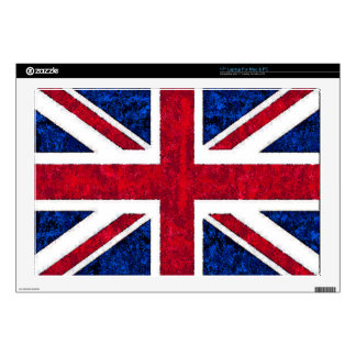 "UK FLAG Laptop Sleeve 17"" Laptop Decals"