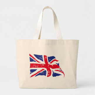 UK Flag Large Tote Bag