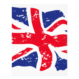 UK Flag Letterhead