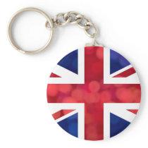UK Flag Limelight Keychain