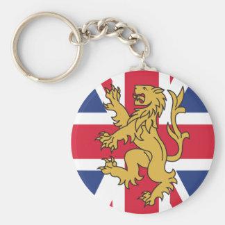UK Flag Lion Key Chains