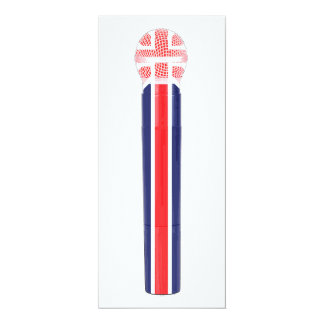 UK flag microphone Card