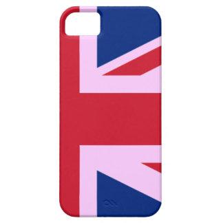 UK Flag Mod iPhone 5 Case Pink