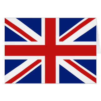 UK Flag Notecard
