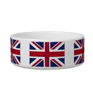 UK FLAG Pet Bowl Cat Water Bowl
