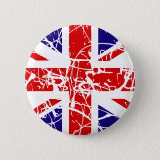 UK Flag Pinback Button