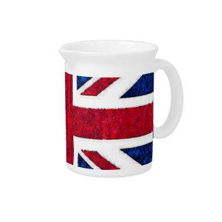 UK FLAG Pitcher