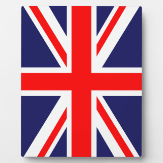 UK Flag Display Plaque