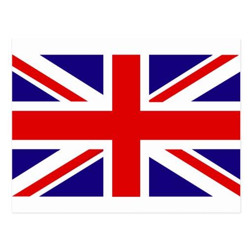 UK Flag Post Cards