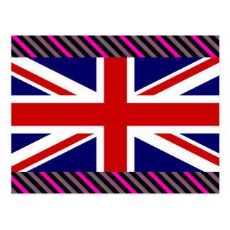 Uk Flag Postcard