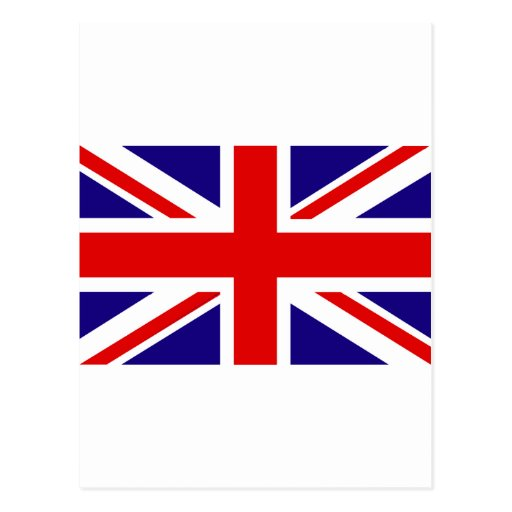 UK Flag Post Card