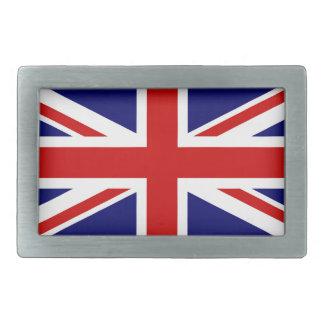 UK flag Rectangular Belt Buckle