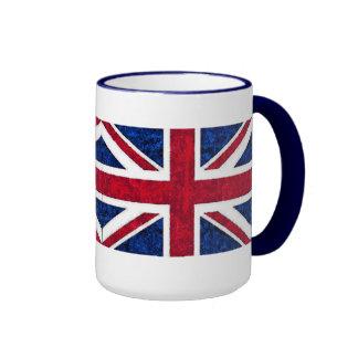 UK FLAG RINGER COFFEE MUG