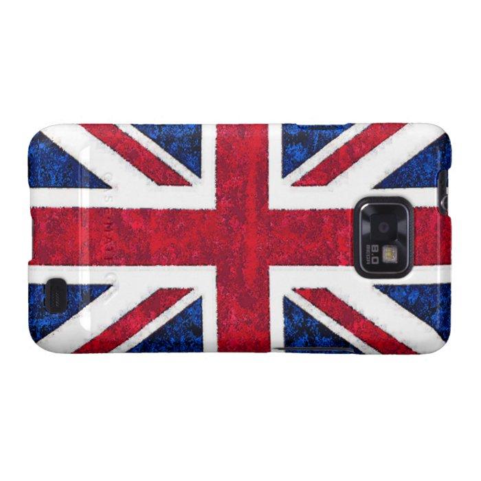 UK FLAG Samsung Galaxy S II Case
