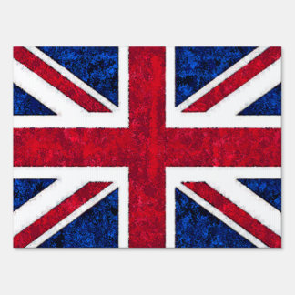 UK FLAG SIGN