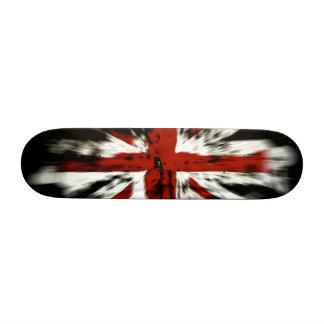 UK Flag Custom Skateboard