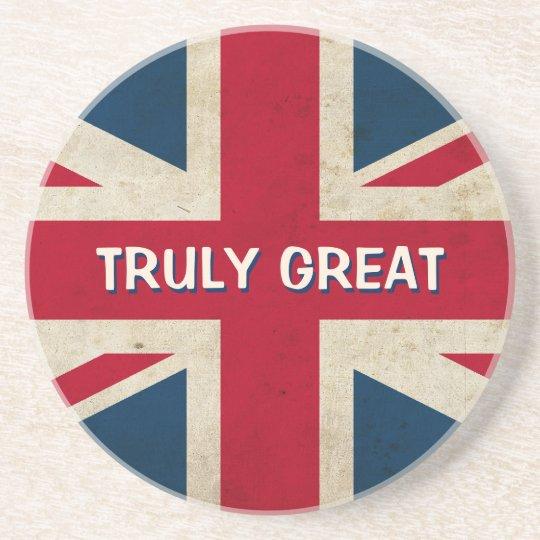 UK Flag - Truly Great coaster