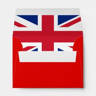 UK Flag Union Jack A6 Linen Designer Envelopes