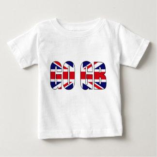 UK flag union jack baby tshirt