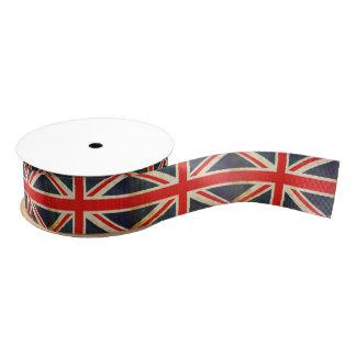 UK Flag Union Jack Custom Ribbon