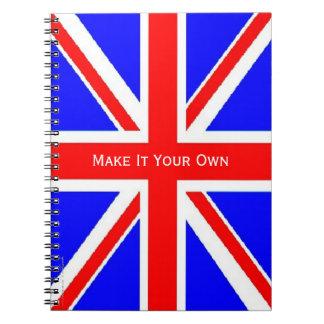 UK flag Union Jack Notebook