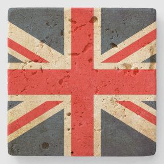 UK Flag Union Jack Travertine Coaster Stone Coaster