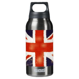 UK Flag Vintage Union Jack Custom 10 Oz Insulated SIGG Thermos Water Bottle