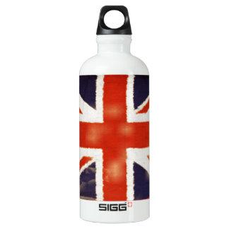 UK Flag Vintage Union Jack Custom SIGG Traveler 0.6L Water Bottle