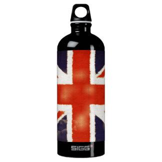 UK Flag Vintage Union Jack Custom SIGG Traveler 1.0L Water Bottle