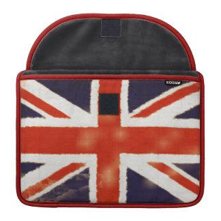 UK Flag Vintage Union Jack MacBook Pro Sleeve