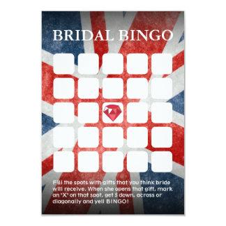 UK Flag Wedding/Bridal Shower Bingo Cards