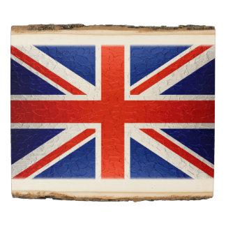 UK Flag Wood Panel