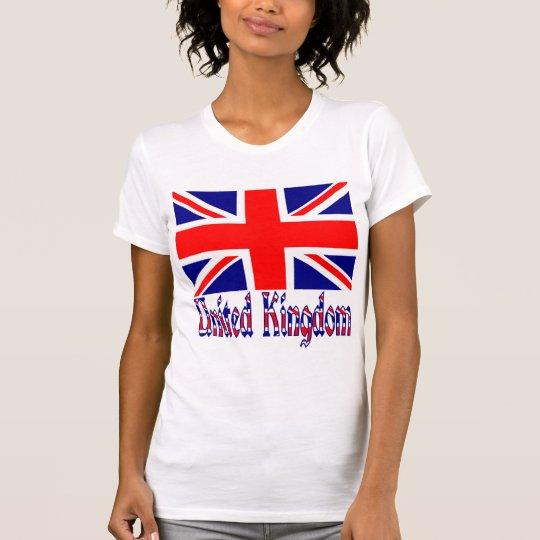 UK Flag & Word Vinque T-Shirt
