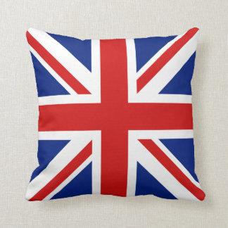 UK Flag x Flag Pillow