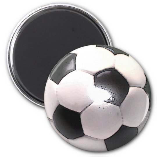 UK Football Ball Magnet