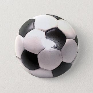 UK Football Ball Pinback Button