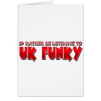 UK FUNKY CARD