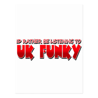 UK FUNKY POSTCARD
