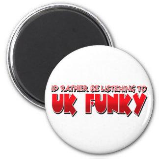 UK FUNKY REFRIGERATOR MAGNET