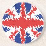 UK Gnarly Flag Coaster