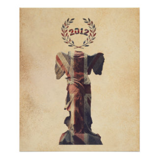 UK Goddess of Victory Poster