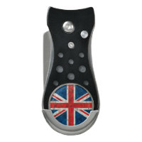 UK Great Britain Union Jack Distressed Flag Divot Tool