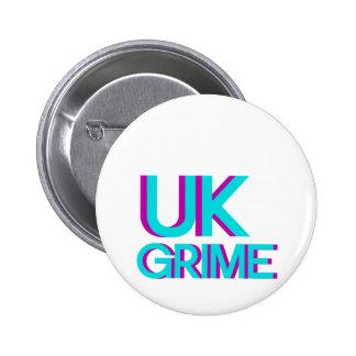 uk grime music pinback button