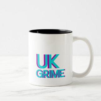 uk grime music Two-Tone coffee mug