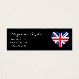 UK Heart Skinny Business Card