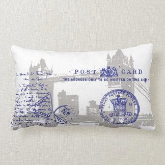 UK London Postcard  Pillow