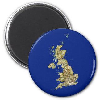UK Map Magnet