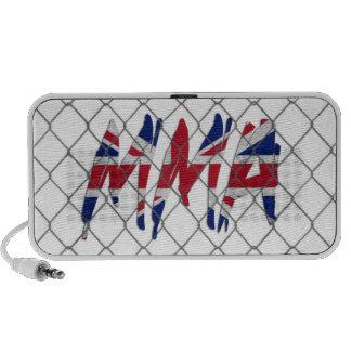 UK MMA white doodle speaker