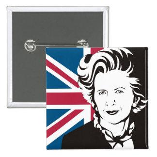 UK mourns Margaret Thatcher, England's Iron Lady Button